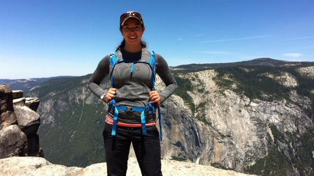 On top of the world! At Taft Point